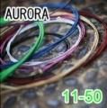AURORA 美國進口綠色民謠弦(11-50)【AURORA進口弦專賣店/木吉他弦】