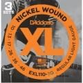 電吉他弦►D'Addario EXL110-3D 一組3套 電吉他弦(10-46)【DAddario/進口弦/EXL-110】