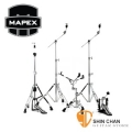 MAPEX 爵士鼓架>  Mapex HP6005 單踏 MARS600 鼓架五件組(B600銅鈸架×2、HiHat架H600×1、P600大鼓單踏、S600小鼓架) 【功學社雙燕公司貨】