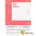 V.K克Our Story鋼琴譜集【內附原聲伴奏CD】