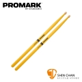 Promark TX747W Yellow 胡桃木經典鼓棒 黃色 5A【Pro mark】