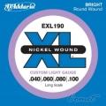 美國D'Addario EXL190 貝斯弦(40~100)【貝斯弦專賣店/進口貝斯弦/EXL-190/DAddario】