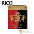 竹片►美國 RICO Grand Concert Select 豎笛/黑管 竹片 Thick Blank 4號 Bb Clarinet (10片/盒)【紅黑包裝】