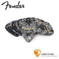 Fender 351 BLACK 彈片 PICK【一組12片/ 尺寸:Heavy (厚度: 1.2mm) 】