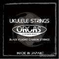 ORCAS OS-MED Ukulele 黑瑩石中張力烏克麗麗弦【21.23吋皆可使用】