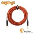 樂器行 ► Orange STIN-OR-30 30呎雙直頭吉他/貝斯專用高傳真導線【電吉他/電貝斯/電民謠吉他/電子琴皆可用】